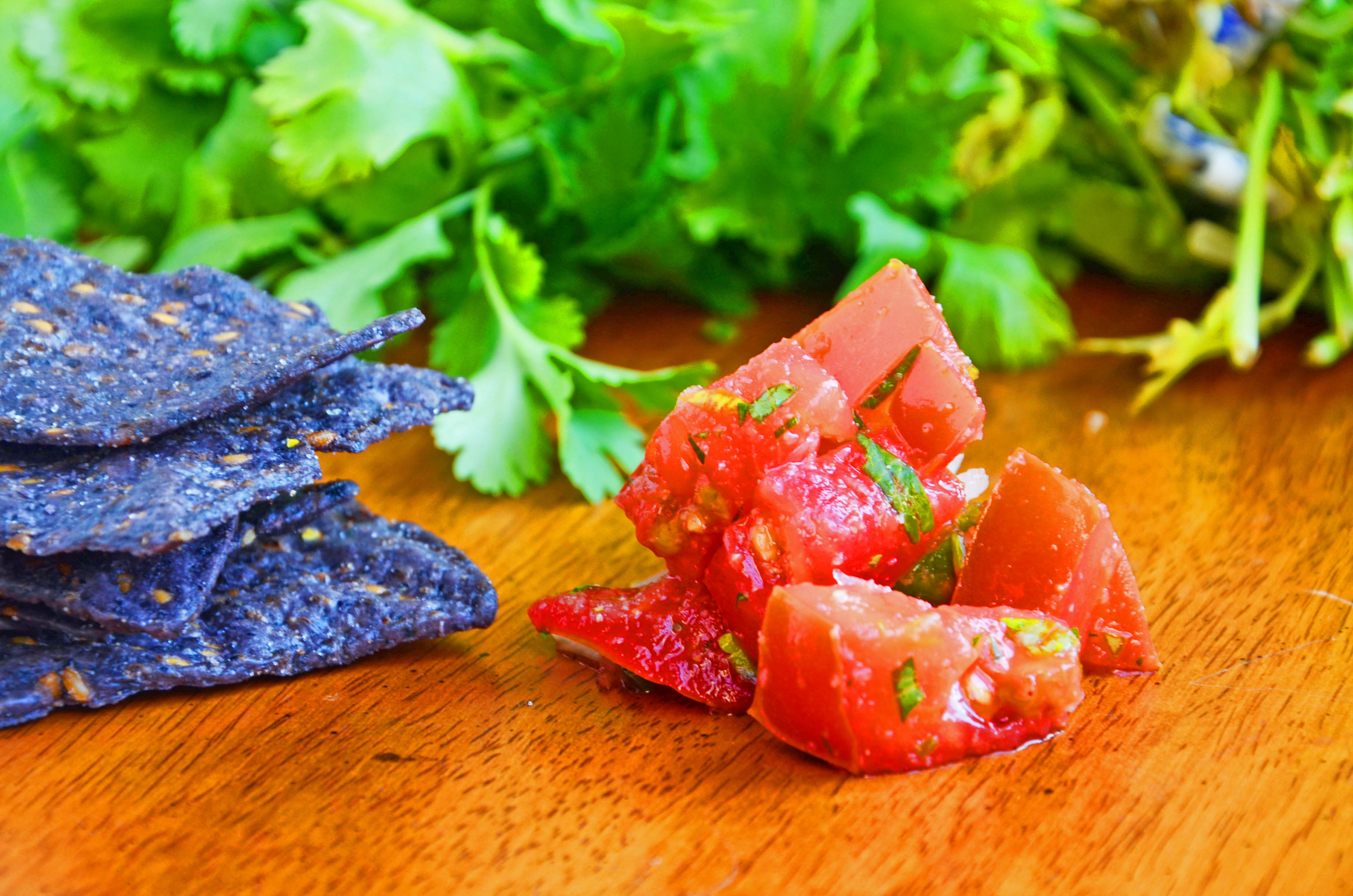 Chunky Salsa recipe from Mexico | hollyshelpings.com